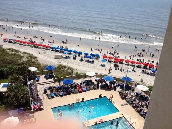 Hilton Myrtle Beach Resort: balcony of room 721
