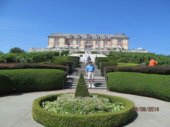 Domaine carneros the french chateau on rt 29 near the town of napa