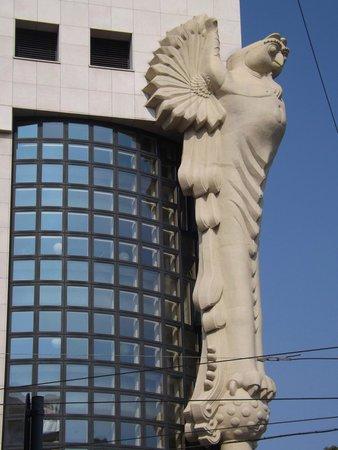 Hotel Papageno: Art Deco building near hotel