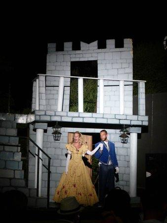 Bungalow Club Village: Spettacolo serale