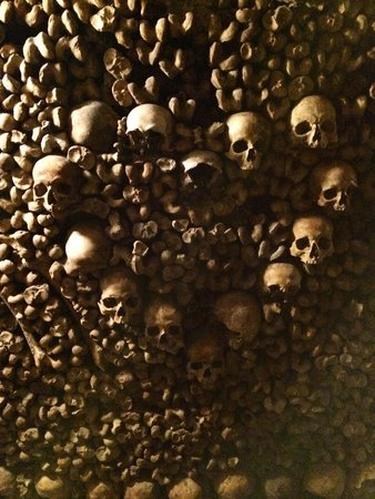 The Catacombs of Paris: Skull and bones of the Catacombs