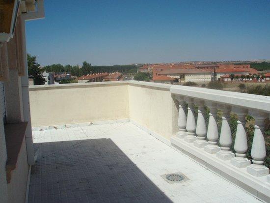 Apartahotel Casablanca: Terraza