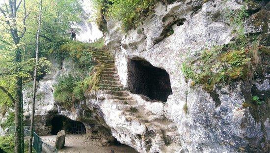 Roque Saint-Christophe Fort et Cite Troglodytiques: Plus grand escalier troglodytique