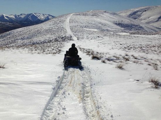 The Cardrona: and up into snow - magic!