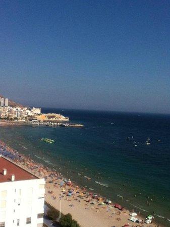 Benibeach Apartments : Beach view