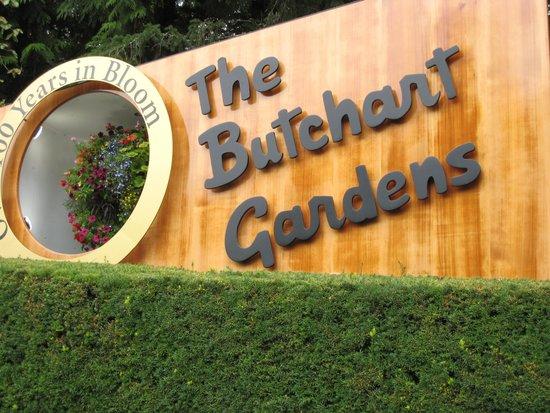 Butchart Gardens: Entrance