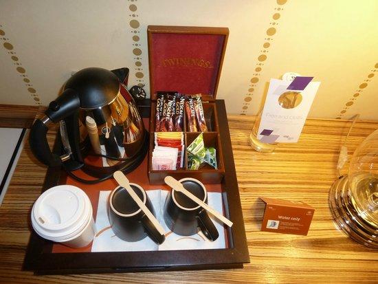 Sheraton Stockholm Hotel: Tea/coffee