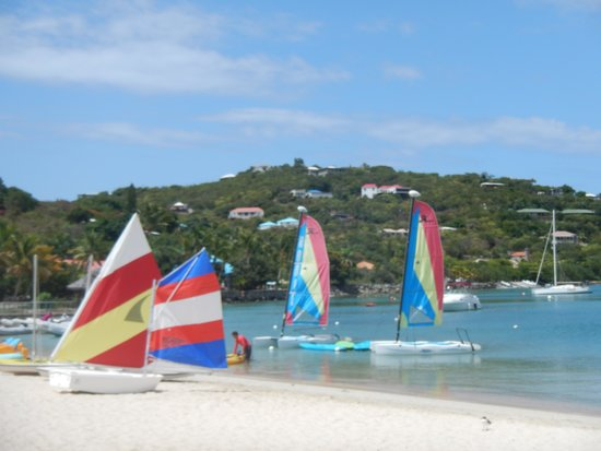 The Westin St. John Resort: Water sports area.