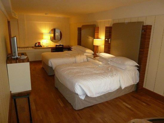 Sheraton Stockholm Hotel: Beds