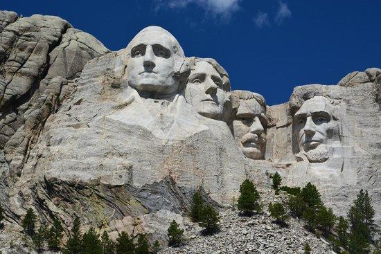 Mount Rushmore National Memorial: Vista dal basso