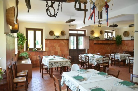 Passo di Treia, İtalya: sala ristorante