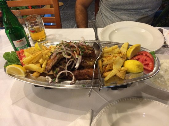 Odyssey Restaurant : Mixed grill for 2 people