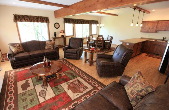East Silent Lake Resort: Inside one of our Vacation Homes.