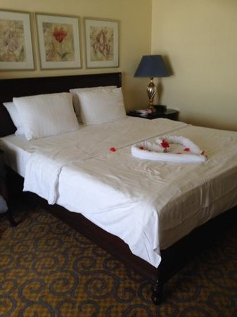The Arkin Colony Hotel: our room on the 3rd floor