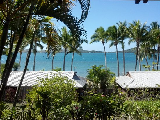 Wananavu Beach Resort: Oceanview view from balcony