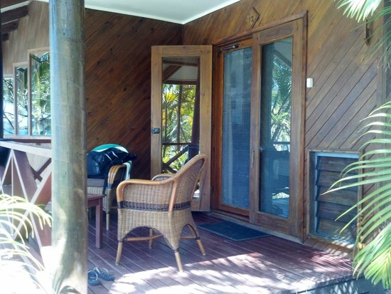 Wananavu Beach Resort: Oceanview balcony