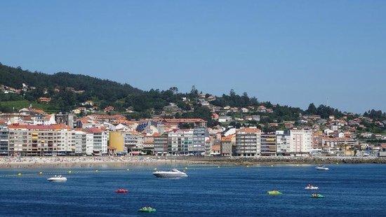 Gran Talaso Hotel Sanxenxo: A praia vista do hotel