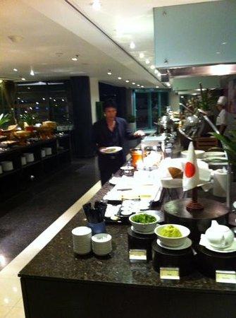 Chatrium Hotel Riverside Bangkok: buffet