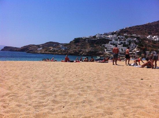 Mylopotas Beach: beach 1