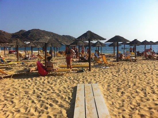 Mylopotas Beach: beach 3