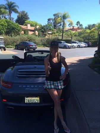 Rancho Valencia Resort & Spa: Porsche Perk