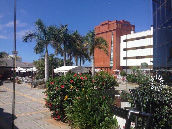Be Live Experience La Nina: View towards pool area