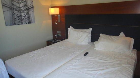 AC Hotel Atocha: Camas separadas según el hotel.