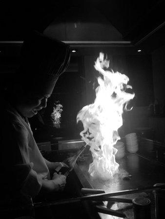 Sapporo Teppanyaki - Glasgow: Chef fantastic!