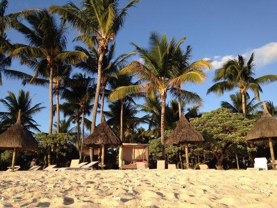 La Pirogue Mauritius: Relax in spiaggia