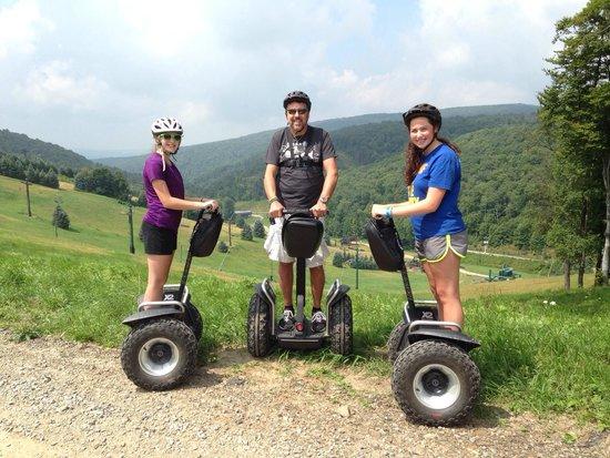 Seven Springs Mountain Resort: Segway tour @ Seven Springs.