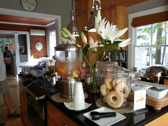 Alexander's Guesthouse : Splendida cucina