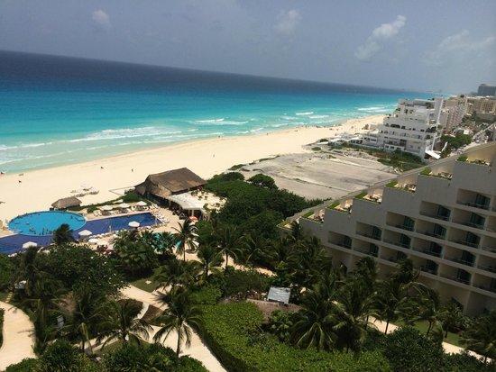Live Aqua Beach Resort Cancun: Vista Hermosa desde el 8° piso