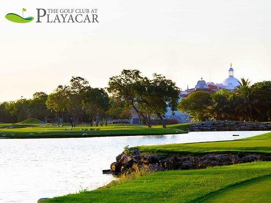 Playacar Golf Club: beautiful hole