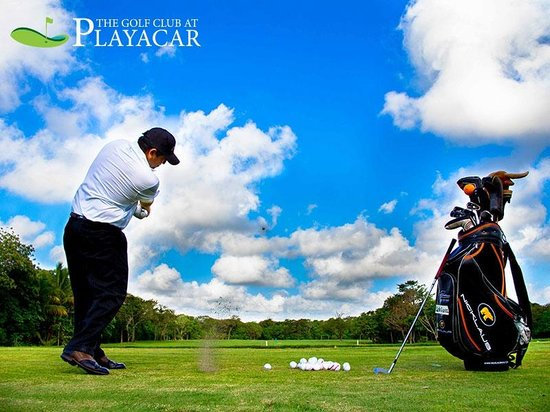 Playacar Golf Club: Drinving Range