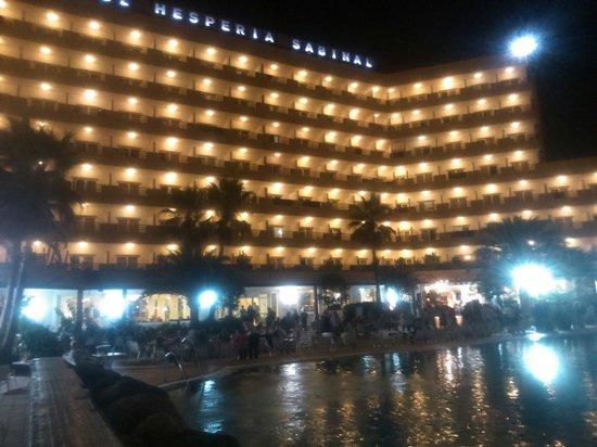 Hotel Best Sabinal: Sabinal by night