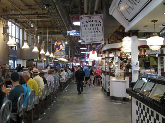 Reading Terminal Market interior
