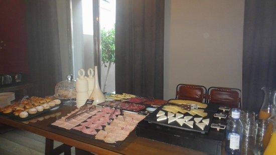 Eurostars Sevilla Boutique: Desayuno