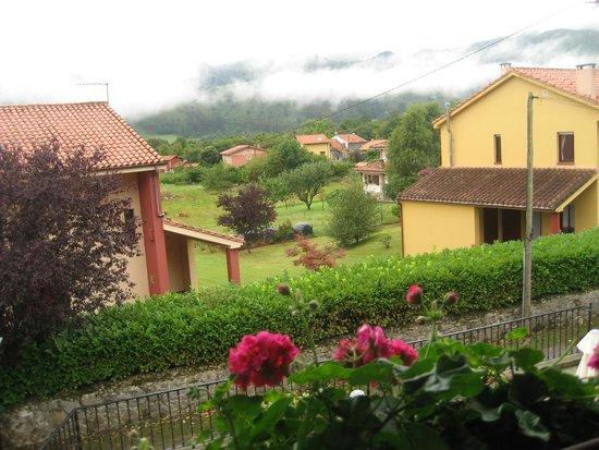 Hotel La Boriza: vistas desde el balcón