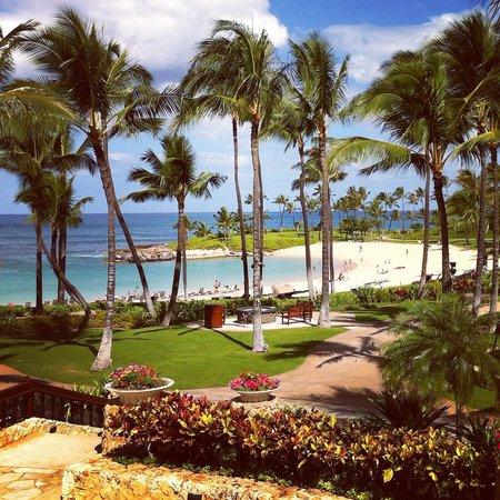 Marriott Ko Olina Beach Club : Lagoon & great lawn
