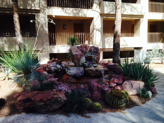 Westin La Paloma Resort and Spa: Next to entrance of Building A