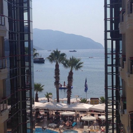 Poseidon Hotel: View from our balcony.
