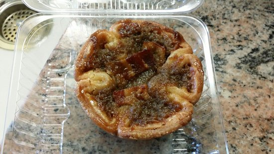 Abbey's Bakehouse : MAPLE BACON BUTTER TART