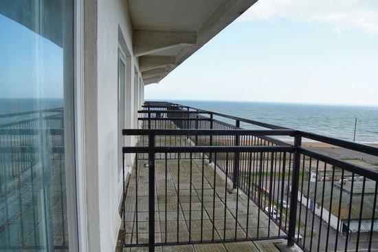 جراند بورستين هوتل فولكيستون: Balcony