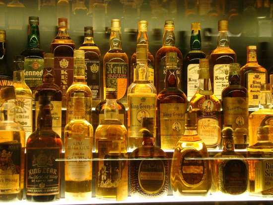The Scotch Whisky Experience: Lots of Scotch