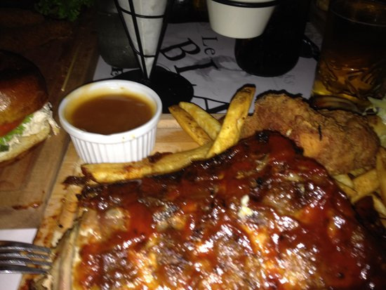 Le Blaks No. 1: Pork and Chicken Combo