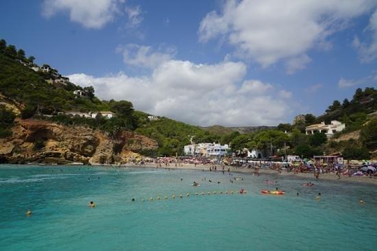 Playa La Granadella: la Granadella