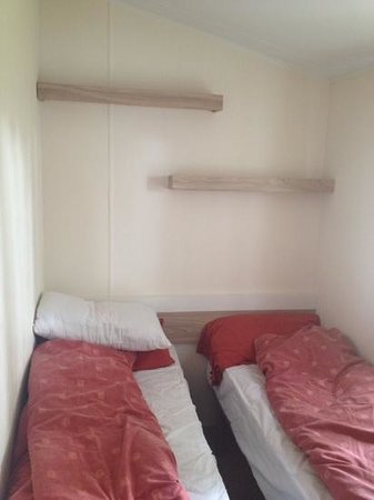 Weymouth Bay Holiday Park - Haven: lack of storage in bedrooms (2014 salsa delux plus)