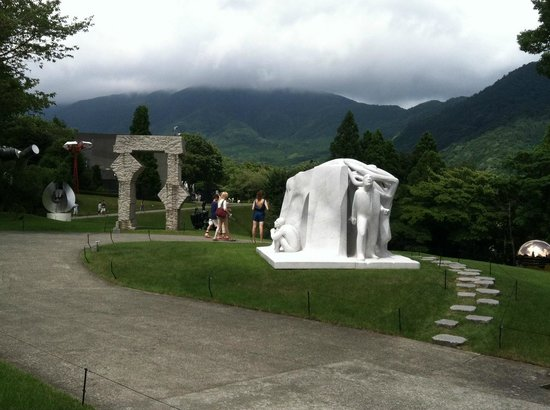 The Hakone Open-Air Museum: It's impossible to fully capture the true character of the Hakone Open Air Museum in a pic.