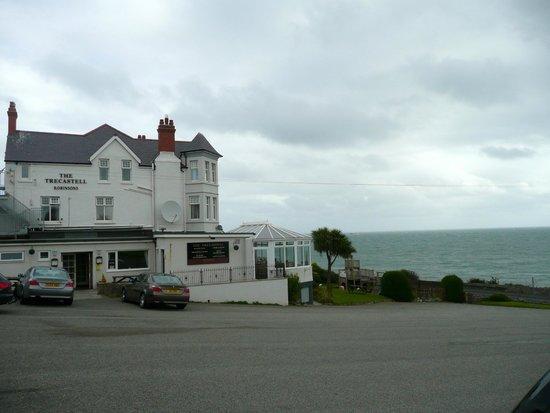 Trecastell Hotel face à la mer
