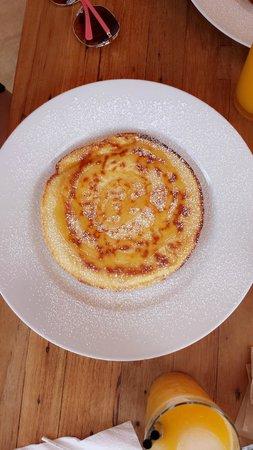 722 Gradi: Pancake with honey
